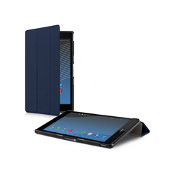kwmobile Tablet-Hülle, Hülle für Sony Xperia Tablet Z3 Compact - Tablet Smart Cover Case Schutzhülle mit Ständer blau