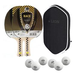 Sunflex Tischtennisschläger Sunflex 2x Tischtennisschläger Race + Tischtennish