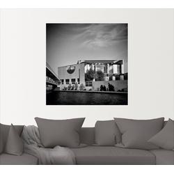 Artland Wandbild Berlin Bundeskanzleramt, Gebäude (1 Stück) 70 cm x 70 cm