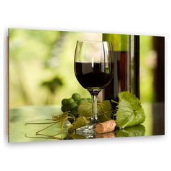 HomeLiving Deco-Panel Wein und Kräuter, Motiv siehe Bild/Beschreibung