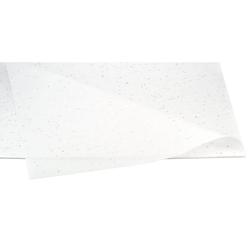 Creativery Seidenpapier, Seidenpapier GLITZER 50x75cm, 10 Bögen weiß
