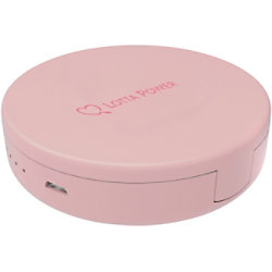 XLayer Powerbank Make-Up-Spiegel 4000 mAh Rose