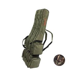 Arapaima Fishing Equipment Angelrutentasche rise (1-tlg), 4-Fach Rutentasche Angeltasche grün 160 cm