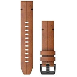 QuickFit 22-Uhrenarmbänder Braunes Leder