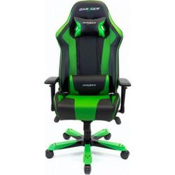 DXRacer Gaming Stuhl, OH/KS06/NE, K-Serie, schwarz-grün