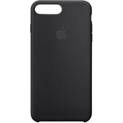 Apple Silicone Case Backcover iPhone 8 Plus, iPhone 7 Plus Schwarz