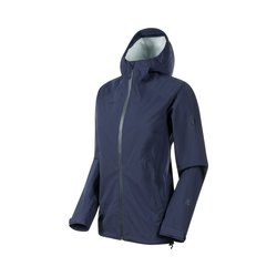 Mammut Albula HS Hooded Jacket Damen Outdoorjacke blau