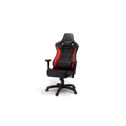 ebuy24 Gaming-Stuhl Garry Bürostuhl Gamer Stuhl schwarz und rot.