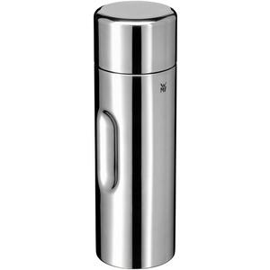 WMF Motion Isolierkanne 0,75l Cromargan Edelstahl, für Tee oder Kaffee, Thermosflasche mit Trinkbecher, hält 24h kalt & 12h warm