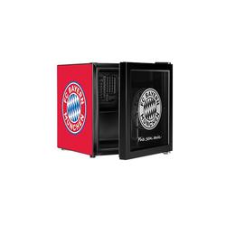ECG Getränkekühlschrank FCB Fan-Kühlschrank ERM 10510 FCBM, 51 cm hoch, 43 cm breit, Fan-Kühlschrank schwarz