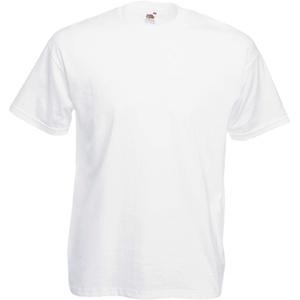 Fruit of the Loom T-Shirt S-XXXL in verschiedenen Farben S,Weiß