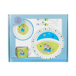 Sterntaler® Kindergeschirr-Set Geschirrset Esel Erik, 5 t-lg. bunt