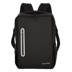 Travelite Basics Rucksack 43 cm Laptopfach schwarz