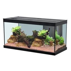 Aquatlantis Style LED Aquarium, 80, schwarz