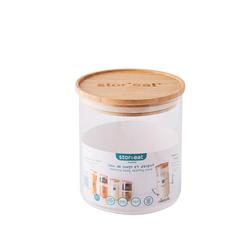 mastrad Vorratsdose StorEat 850 ml, Borosilikatglas, (1-tlg)