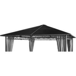 Grasekamp Ersatzdach Hardtop Pavillon Meran 3x3m  Doppelstegplatten Polycarbonat Braun