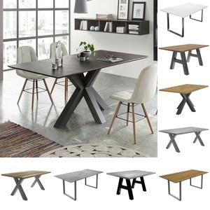 Esstisch The Big Tischsystem Esszimmertisch Keramik Dunkel Und Graphit 180x90 Cm