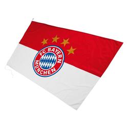 FC Bayern Fahne FC Bayern Hissfahne mit Logo