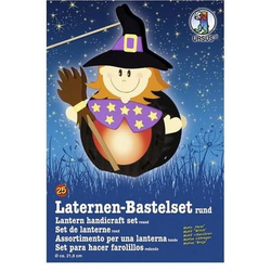 Laternen-Bastelset 25 'Hexe'