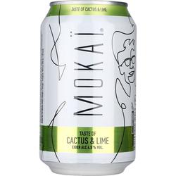 Mokai Cactus & Lime Cider 4,5% 18x0,33 ltr.