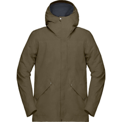 Norrona - Oslo Gore-Tex Jacket M's Olive Night - Jacken - Größe: L