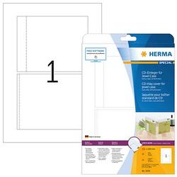 25 HERMA CD-Einleger 5036 weiß