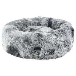 Nobby Kuschelbett Donut Coda grau für Hunde