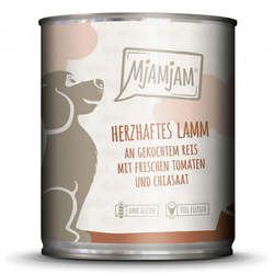 MjAMjAM - Hundefutter - herzhaftes Lamm - 400 g
