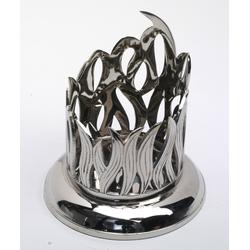 Kerzenhalter Flamme-Leuchter 10 cm