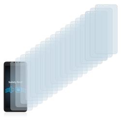 Savvies Schutzfolie für Alcatel Avalon V, (18 Stück), Folie Schutzfolie klar