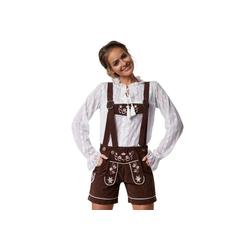 tectake Trachtenlederhose Lederhose Alpsee (1-tlg) Oktoberfest M