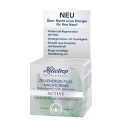 Heliotrop Active - Zellenergie-Plus Nachtcreme 50ml