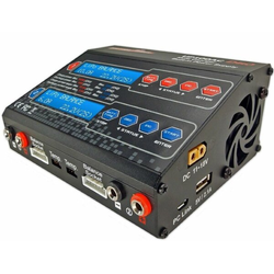 Ultra Power UP100AC DUO AC-DC 2 fach LiPo-NiMh Ladegerät 10-6 Ampere-100-50Watt *NEW*