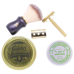 Golden Beards Golden Shaving Kit
