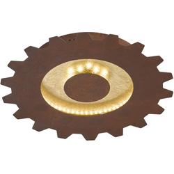 WOFI LED Deckenleuchte LEIF, LED Deckenlampe