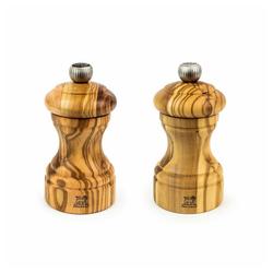 PEUGEOT Salz-/Pfeffermühle Bistro Duo Olivenholz 10 cm manuell