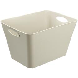 Rotho LIVING Box, 44 Liter, Aufbewahrungsbox, Maße: 526 x 392 x 310 mm, Farbe: cappuccino