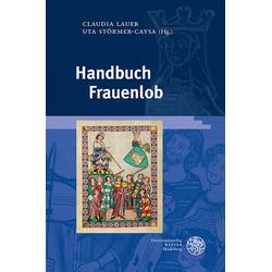 Handbuch Frauenlob als Buch von Anna Sara Lahr