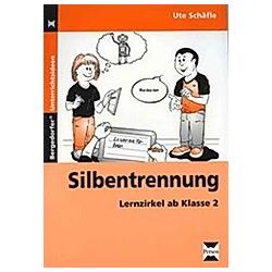 Silbentrennung. Ute Schäfle  - Buch