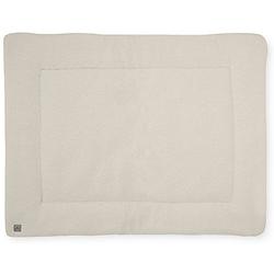 Krabbeldecke, 80 x 100 cm, Teddy cream white beige/weiß