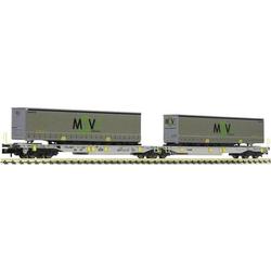 Fleischmann 825025 T2000  Move Intermodal  Doppeltaschen-Gelenkwagen, AAE Move Intermodal