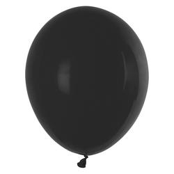 Luftballons schwarz Ø 250 mm, Größe 'M', 10 Stk.