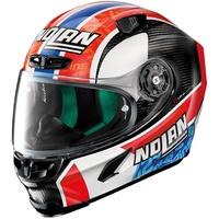 X-Lite X-803 Ultra Carbon Rins Helm, rot-blau, Größe S