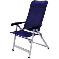 Crespo Campingstuhl Luxus Plus dunkelblau