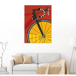 Posterlounge Wandbild, Mein Rennrad 30 cm x 40 cm