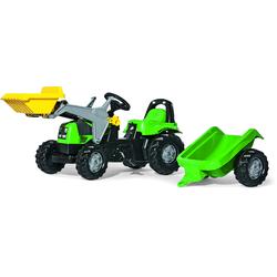 Rolly Toys Trettraktor mit Schaufellader und Anhänger rolly Kid Deutz