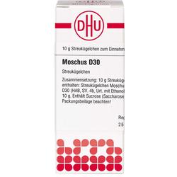 MOSCHUS D 30 Globuli 10 g