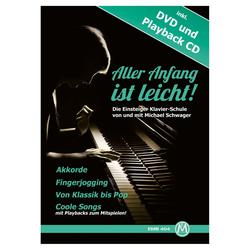 Michael Schwager, Aller Anfang ist leicht, Klavierschule + DVD und Playback-CD