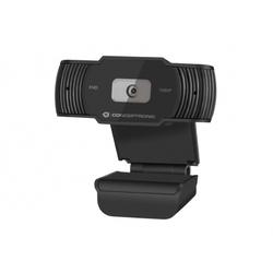 Webcam AMDIS 1080P Full HD Webcam mit Privatsphäreabdeckung