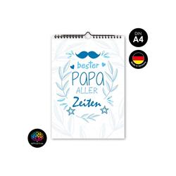 OfficeTree Kalender zum Selbstbasteln Bastelkalender Papa, Kalender DIY in DIN A4